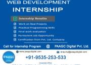 Internship Web developer
