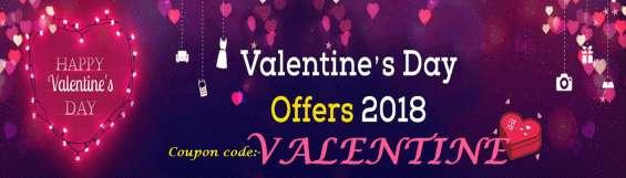 50% off on desiner saree [valentine's day offer]