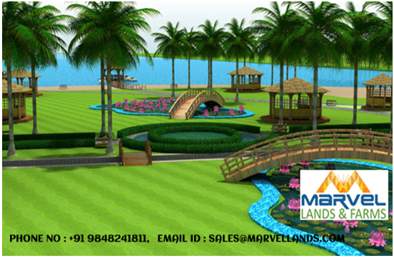 Gated community plots for sale in kadthal near international airport