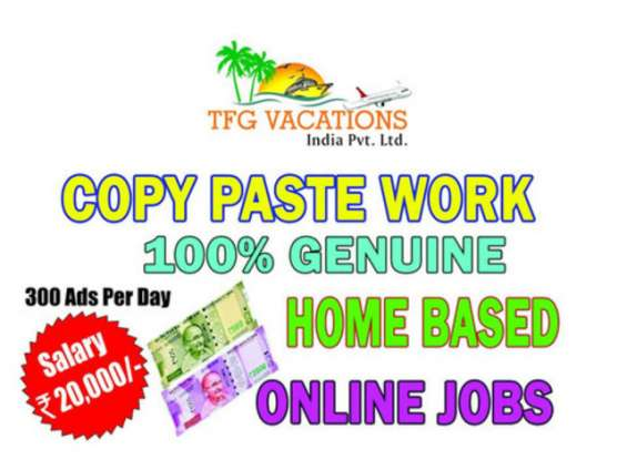 Online promotion work from home for tfg