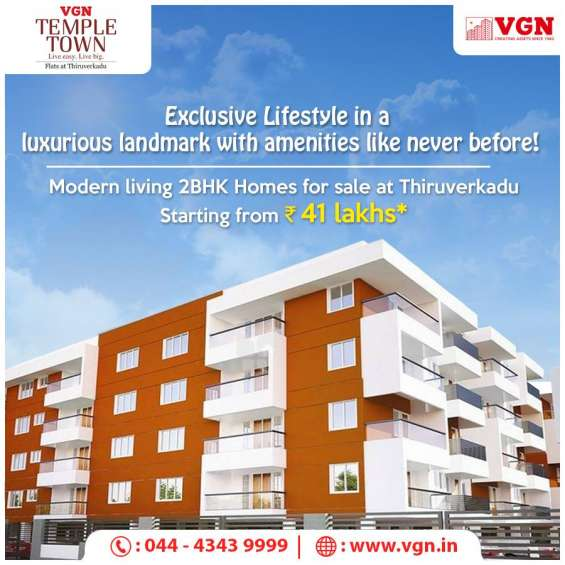 Apartments for sale in thiruverkadu