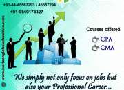 CPA training course in Chennai