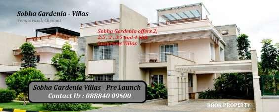 Sobha gardenia villas pre launch