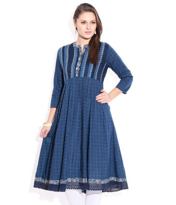 Online shopping for block printed kurtis