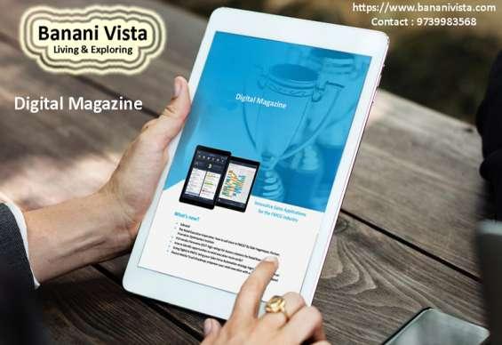 Digital magazine | online magazine | banani vista