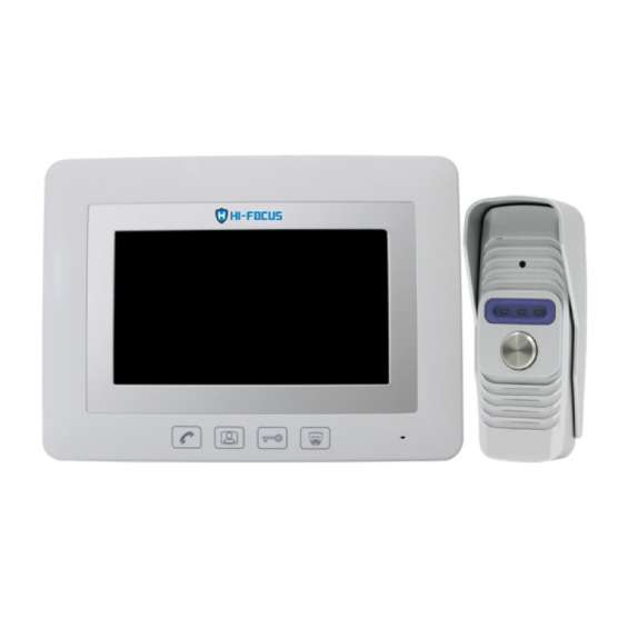 Hi focus-hf-snh-7 video door phones