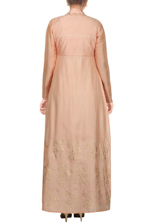 Peach maxi dress online