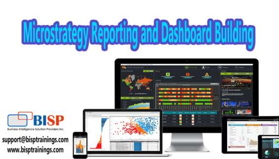 Microstrategy reporting and dashboard building