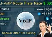 USA / UK - CLI - VoIP Route Flate Rate $.0055 USD