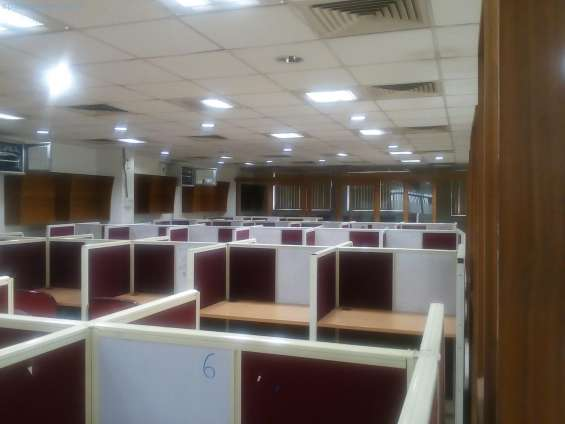 2500 sqft with 25 seats for rental -furnished office at mount road