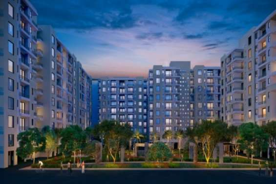 4 bhk semi furnished flats in mona city in mohali ,sector-115