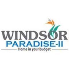 Sitemap of windsor paradise 2bhk (ii) rajnagar extn gzb floorplan, masterplan