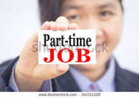 Part time job vacancy