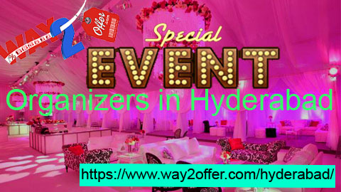Event organizers in hyderabad