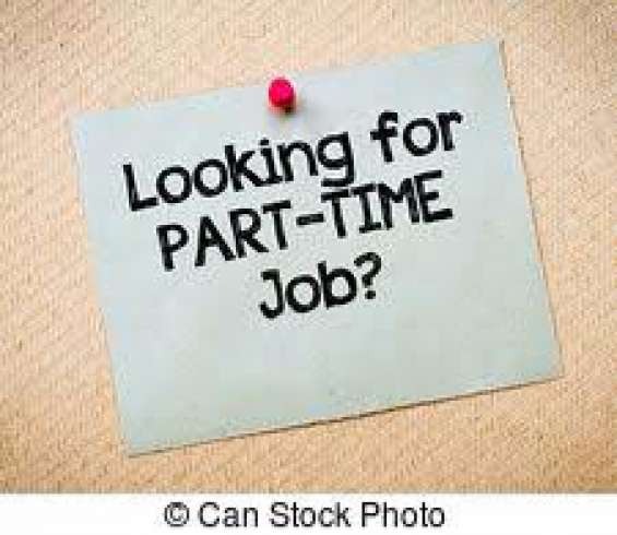 Part time job 2018 vacancy