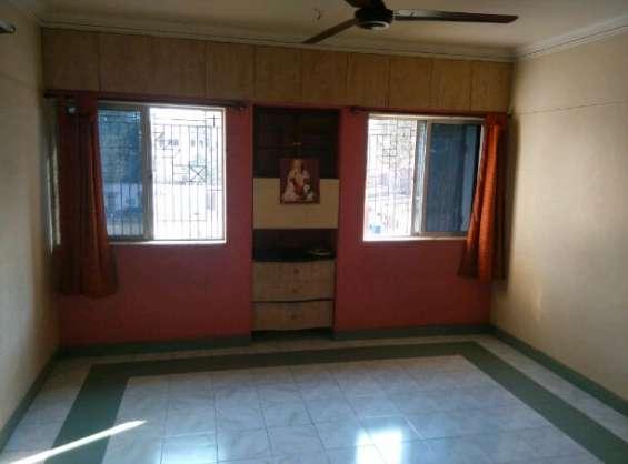 2 bhk semi-furnished flat