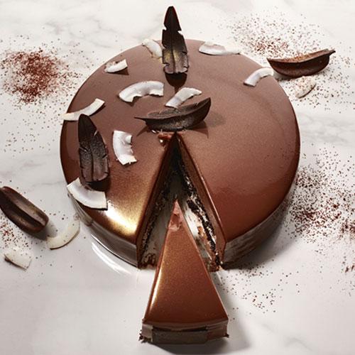 Pictures of Buy belgium chocolate truffle (eggless) cakes online – smoor chocolates 3