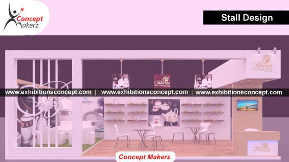 Exhibition stall design & fabrication company in india