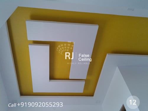 False ceiling designers in coimbatore   rj ceiling