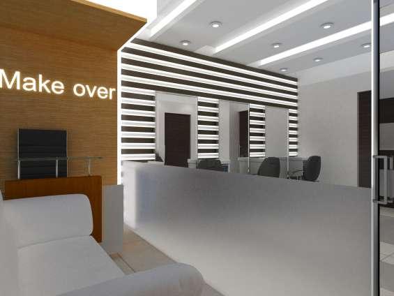 Home interior commercial interior modular kitchen