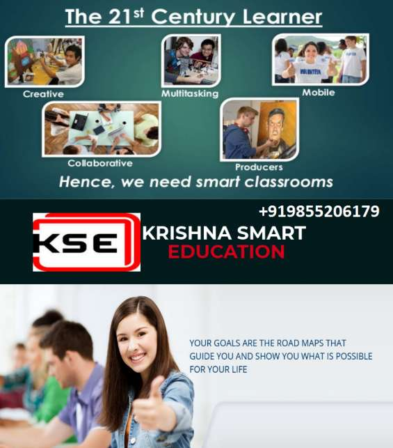 Smart education system in punjab jalandhar (+919855206179)