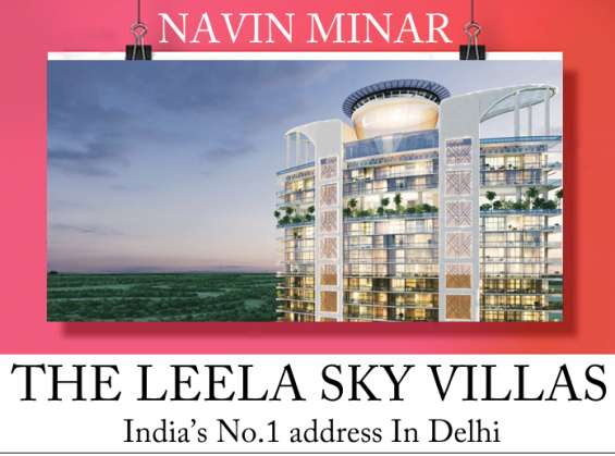Navin minar – the luxurious living serviced & managed by the leela