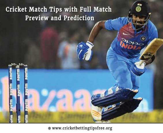 Cricket match tips with full match preview and prediction