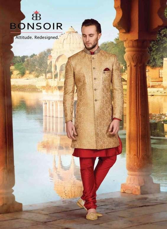 Pictures of Indo western dresses for men - bonsoir 5