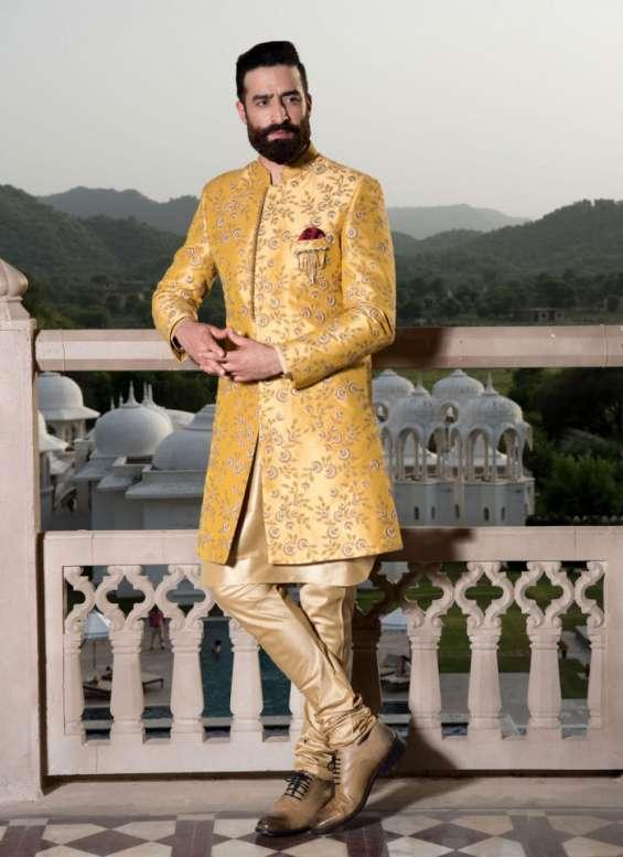 Pictures of Indo western dresses for men - bonsoir 7