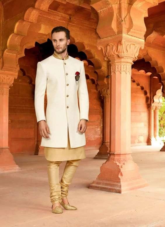 Pictures of Indo western dresses for men - bonsoir 3