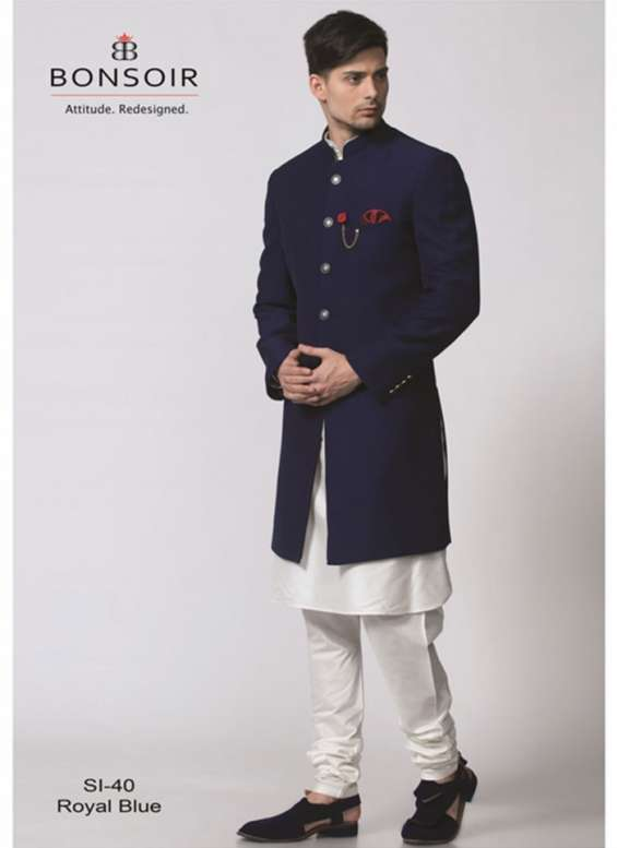 Pictures of Indo western dresses for men - bonsoir 4