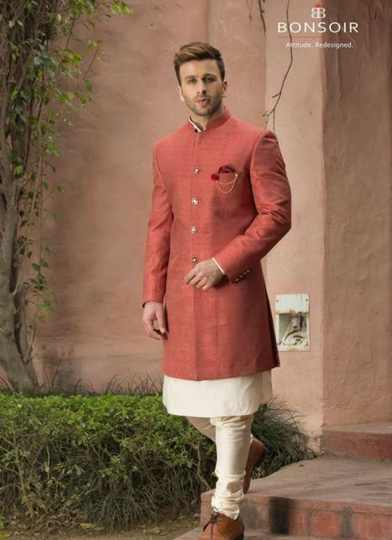 Pictures of Indo western dresses for men - bonsoir 2