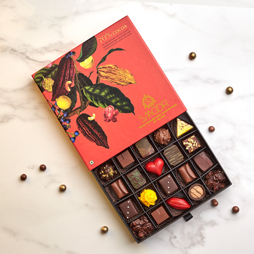 25 piece chocolate box | gift chocloate online in bangalore | smoor chocolates