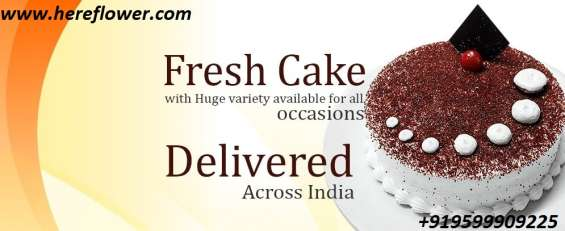 Order delicious cakes home delivery online - hereflower