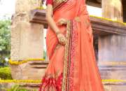 Opulent Indian bridal sarees only at India Emporium!