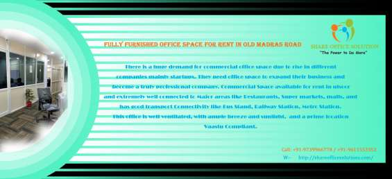 For startup your business we have co working space avaiable for rent in ulsoor near metro