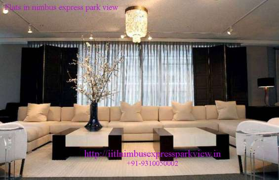 Flats in nimbus express park view in greater noida
