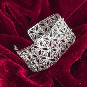 Designer silver bracelets online in india