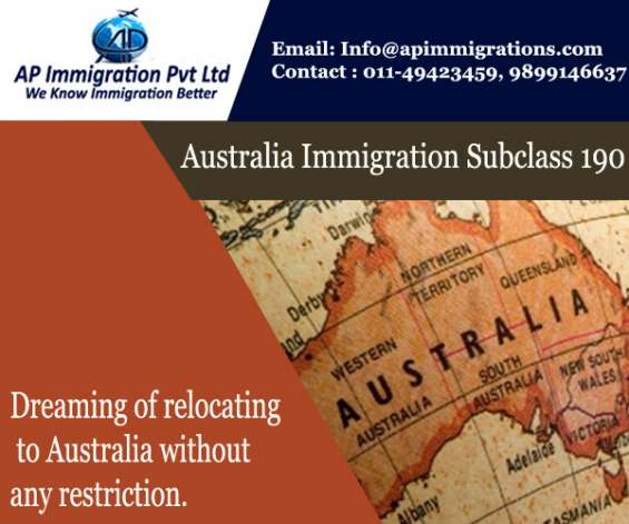 Skilled nominated visa australian immigration 190