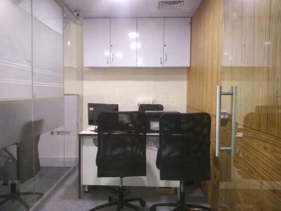 30 seater fully furnished call center- bpo- it space at the heart of city for lease or ren