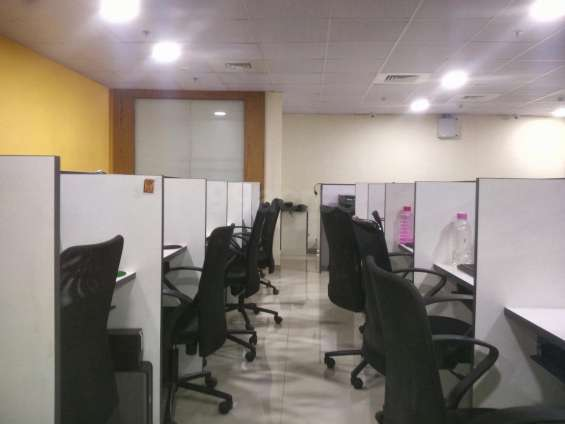 Fully furnish call center # 5 to 60 setters day shift permission # with all facilities #