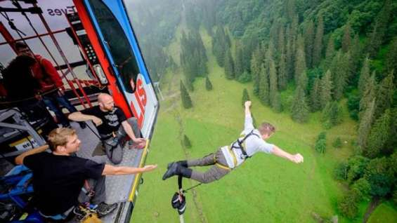 Bungee jump india___