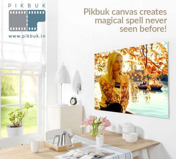Get unique designed photo canvas online at best price