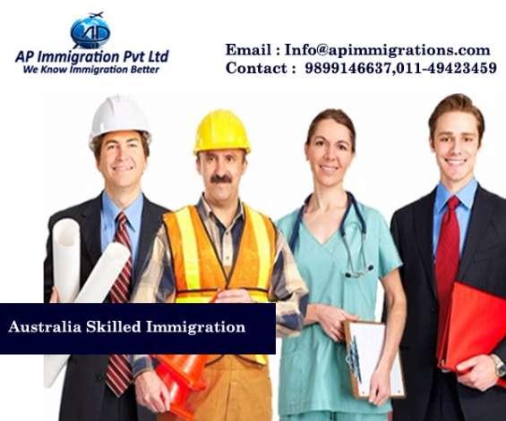 Online visa assessment for australia immigration