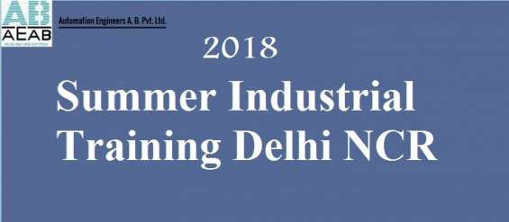 Summer automation industrial training in noida - aeab