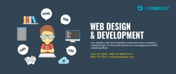 Web design and development ahmedabad