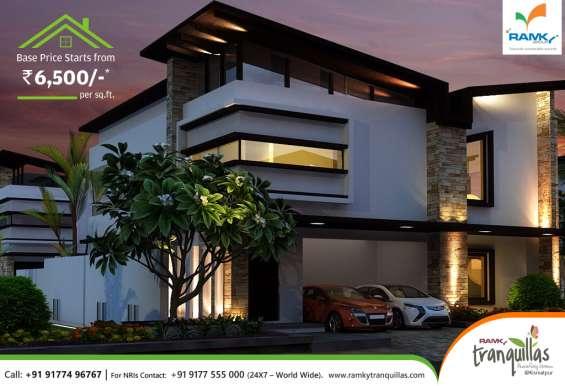 Finest villas at kismatpur offers first-class amenities-ramkytranquillas