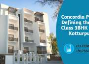 Best 2BHK & 3BHK Flats in Kotturpuram are in Sale
