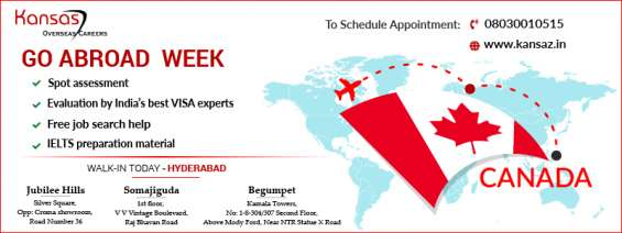 Kansas overseas careers in hyderabad is more than just a visa company!