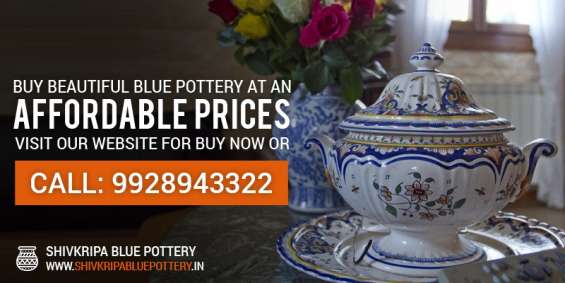 Shivkripa bluepottery is the biggest manufacturer and supplier of jaipur blue pottery in india, offers the wide range of beautiful blue pottery at affordable prices.